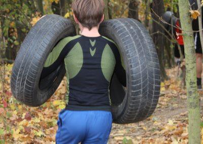 Běh s pneu