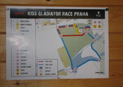 Mapa trati pro děti